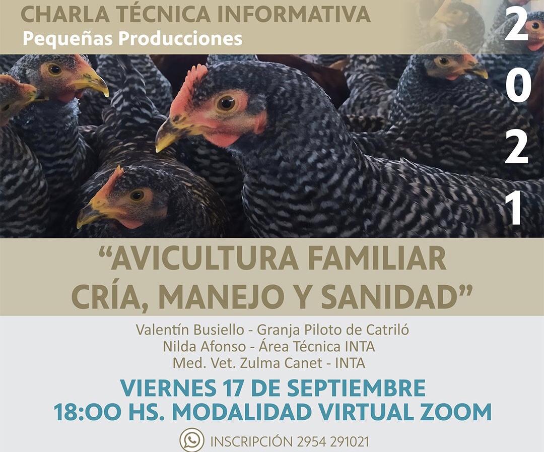 Nueva jornada sobre avicultura familiar