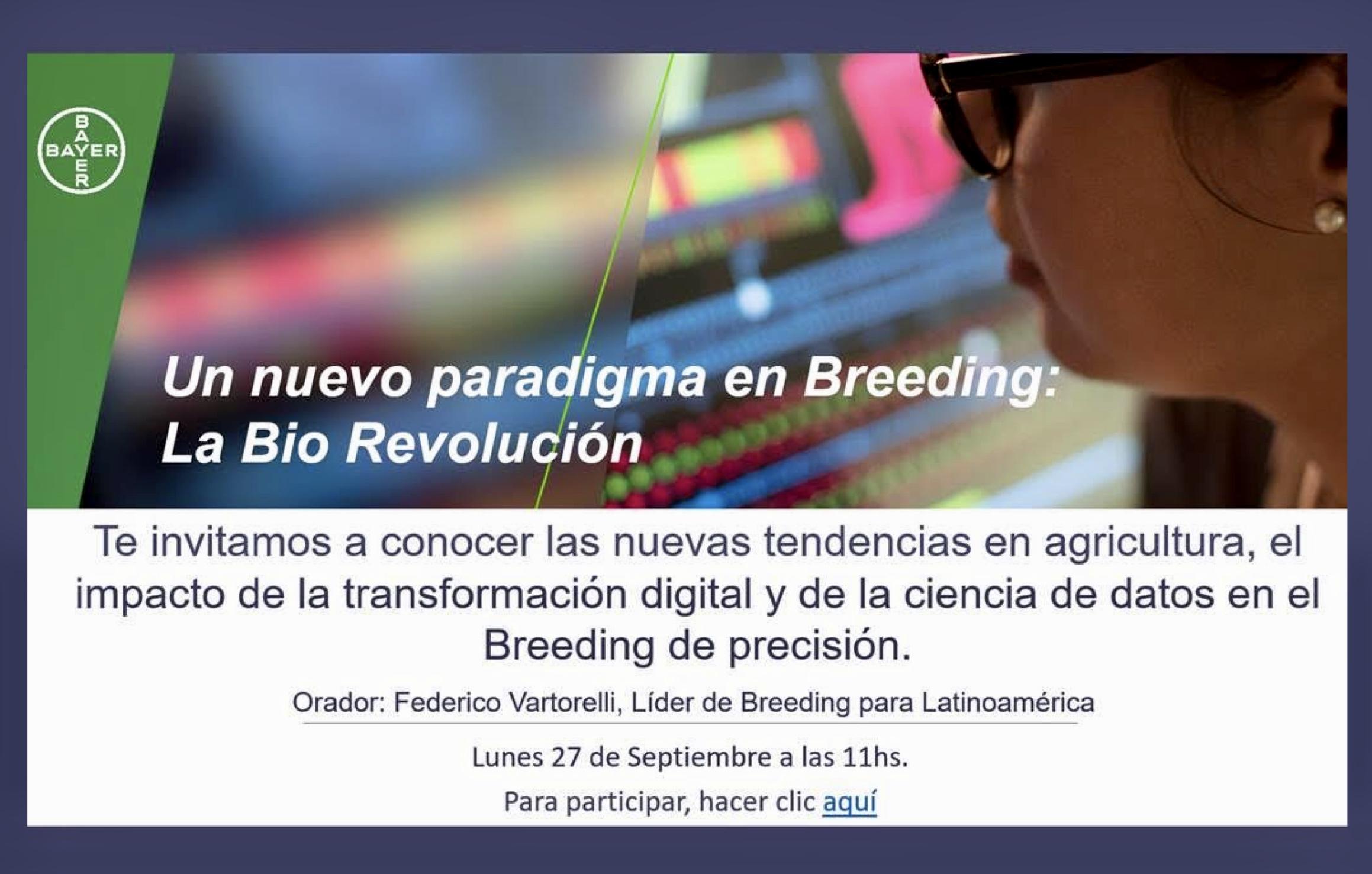 El breeding y la transformación del agro
