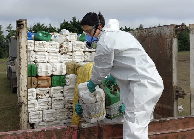La recolección de envases en I. Luiggi juntó más de 2.500 unidades